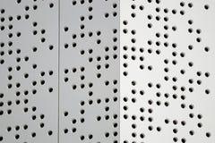Prickar som definierar en abstrakt modern arkitekturbakgrund Arkivfoto