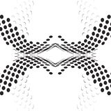 Prickbakgrundssvart vektor illustrationer