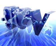 prickgov-internet vektor illustrationer