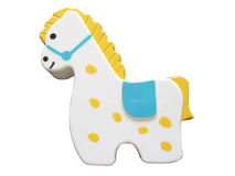 prickig gullig häst Royaltyfria Bilder