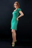 prickig klänningflicka Royaltyfri Foto