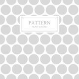 Prickig sömlös geometrisk modell för vit och för grå färger royaltyfri illustrationer
