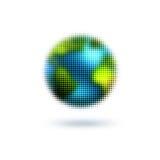 prickig värld Royaltyfri Fotografi