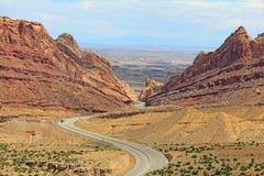 Prickig Wolfkanjon, Utah royaltyfri foto