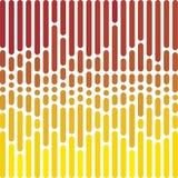Prickiga raka linjer bakgrund för vektor Royaltyfria Bilder