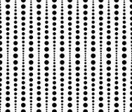 Prickigt prickmodell, bakgrund Sömlöst repeatable båda sid royaltyfri illustrationer