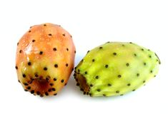 Prickly pear ( cactus figs ) Stock Photography