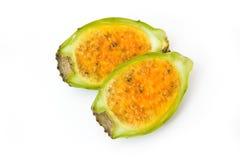 Prickly pear halves Royalty Free Stock Photos