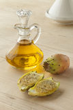 Prickly Pear Seed Oil Stock Photography