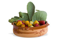 Prickly pears. Photo os some fresh prickly pears Stock Photo