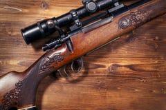 Prickskytt Rifle arkivfoto