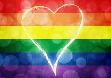 Pride Background abstrait grunge Photographie stock libre de droits