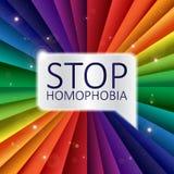 Pride Banner conseguido ilustración del vector