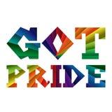 Pride Banner obtenu Image libre de droits