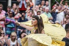 Pride Canal Parade Amsterdam gai 2014 Image libre de droits