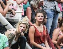 Pride Canal Parade Amsterdam gai 2014 Photographie stock