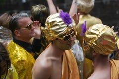 Pride Canal Parade Amsterdam gai 2014 Photos libres de droits