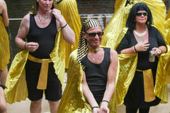 Pride Canal Parade Amsterdam gai 2014 Photo libre de droits