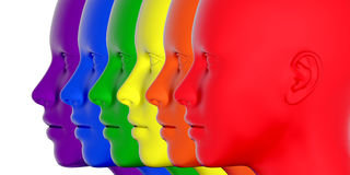 Pride colors Royalty Free Stock Photography