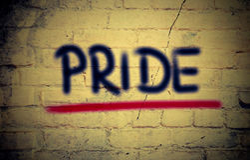 Pride Concept Royalty Free Stock Photos
