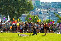 Pride Day (Gay Parade) in Budapest, Hungary Stock Photography