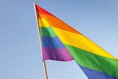 Pride Flag alegre Imagens de Stock