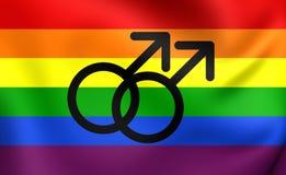 Pride Flag gai Image libre de droits