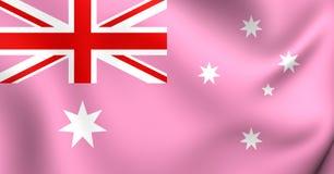Pride Flag gai d'Australie Photographie stock
