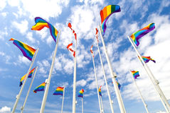 Pride Flags Royalty Free Stock Photos