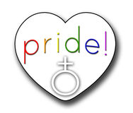 Pride Heart Stock Photography