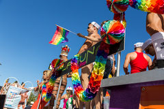 Pride of the lesbian, gay, bisexual and transgender People Royalty Free Stock Image