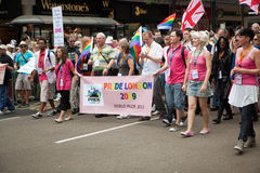 Pride London 2009 Royalty Free Stock Photo