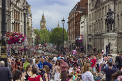 Pride in London Gay Parade Royalty Free Stock Photography