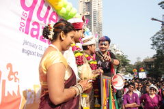 Pride March in India Stock Photo