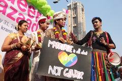 Pride March in India Stock Images