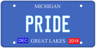 Pride Michigan Stock Photo