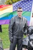 Pride Month alegre Imagem de Stock
