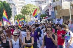 Pride Parade alegre, Chipre foto de stock royalty free