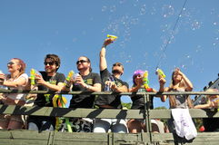 Pride Parade alegre 2013 em Éstocolmo Fotos de Stock