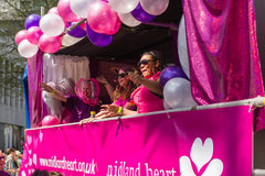 Pride Parade 2013, Birmingham Imagem de Stock