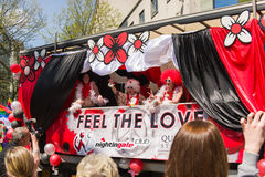 Pride Parade 2013, Birmingham Immagine Stock Libera da Diritti