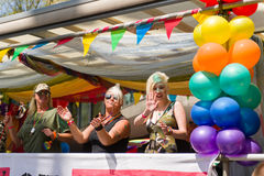 Pride Parade 2013, Birmingham Photo stock