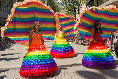 Pride Parade 2013, Birmingham Image stock