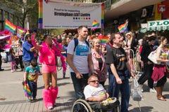 Pride Parade 2013, Birmingham Stock Photo