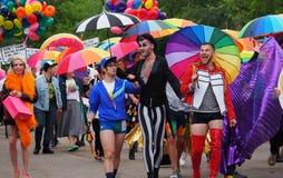 Pride Parade Edmonton 2017 Stock Photo