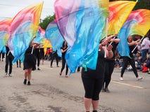 Pride Parade Edmonton 2017 Stock Images