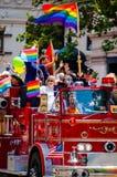 Pride Parade em San Francisco, Califórnia, EUA fotografia de stock royalty free