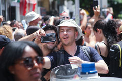 Pride Parade em Tel Aviv 2013 Foto de Stock Royalty Free