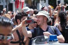 Pride Parade en Tel Aviv 2013 Imagen de archivo libre de regalías