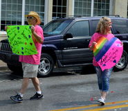 Pride Parade Fayetteville AR 2016 Stock Photo